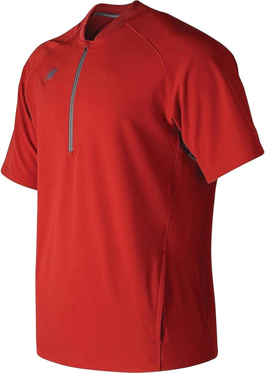 New Balance Men's Short Mesa Mall 3000 Sleeve Batting shipfree Jacket