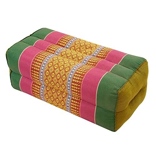 Zafuko Yoga, Meditation, Kundalini and Pilates Cushion (Zafu) Block, Bolster, Floor Pillow