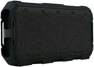 Braven BRV-Blade Wireless Portable Bluetooth Speaker [22 Hour Playtime][Waterproof] 4000 mAh Power Bank Charger - Black (Renewed)