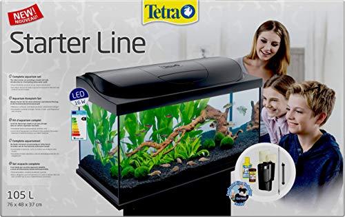 Tetra Aquarium Starter Line LED 105 Litre Fish Tank Complete Set