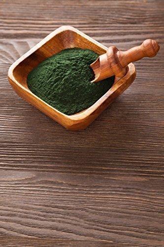 100 g Spirulina Pulver Powder 100% rein Futter Superfoods Alge Smoothie
