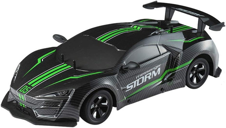 Kikioo RC Drift Auto Spielzeug, USB 1 10 Allradantrieb 4WD Fernbedienung Rock Crawler 360 ° Rotation Stunt Drift Rennwagen Modell Spielzeug Fahrzeugfreie Reifen Neu- Rapid Fast Speed - Player Hobby