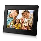 7-Inch, Hi Resolution, Ultra-Slim Digital Photo Frame, IPS Screen (Black)