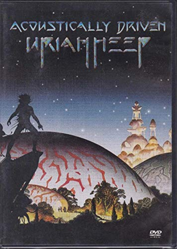 Uriah Heep - Dvd Acoustically Driven - 2004