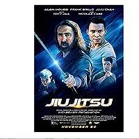 Jiu Jitsu(2020)ポスターとプリント映画ポスターアート静止画装飾リビングルーム寝室キャンバス壁にプリント-60x90cmx1pcs-フレームなし
