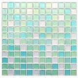 Yoillione Pelar y pegar azulejos azulejos de cocina papel pintado transferencia...