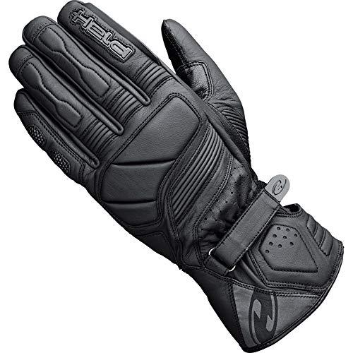 Held Motorradhandschuhe lang Motorrad Handschuh Travel 6.0 Lederhandschuh lang schwarz 8, Unisex, Tourer, Ganzjährig