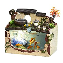 Aquariums Fish Tank Living Room Glass Landscaping Goldfish Tank Rectangular Office Desktop Ecological Terrariums Household Transparent Turtle Tank