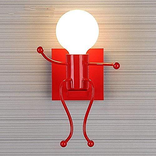 Lamp wandlamp wandlamp E26/27, fitting E27, voor kinderen, woonkamer, slaapkamer, bedlamp, LED, creatieve wandlampen