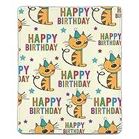 ゲーミングマウスパット キャラクター お誕生日おめでとうございます