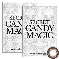 Secret Candymagic monthly シークレット キャンディー マジック マンスリー 【カラー】セピア 【PWR】-3.75 1枚入 2箱