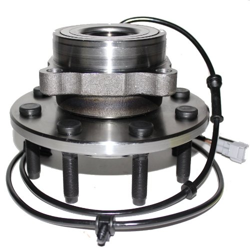 Detroit Axle 515063 Front Wheel Hub and Bearing Assembly for 4x4 8 Lug For 2000 2001 2002 Dodge Ram 2500 3500