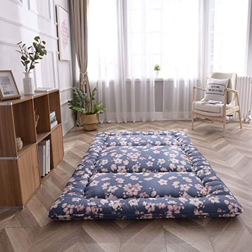 HOMRanger Japanisches Tatami Matratze,verdicken Faltbare Bodenmatratze Langlebig Atmungsaktiv Matratze Tragbare Polsterung Schlafmatratze Matt Futon-g 100x200cm(39x79inch)