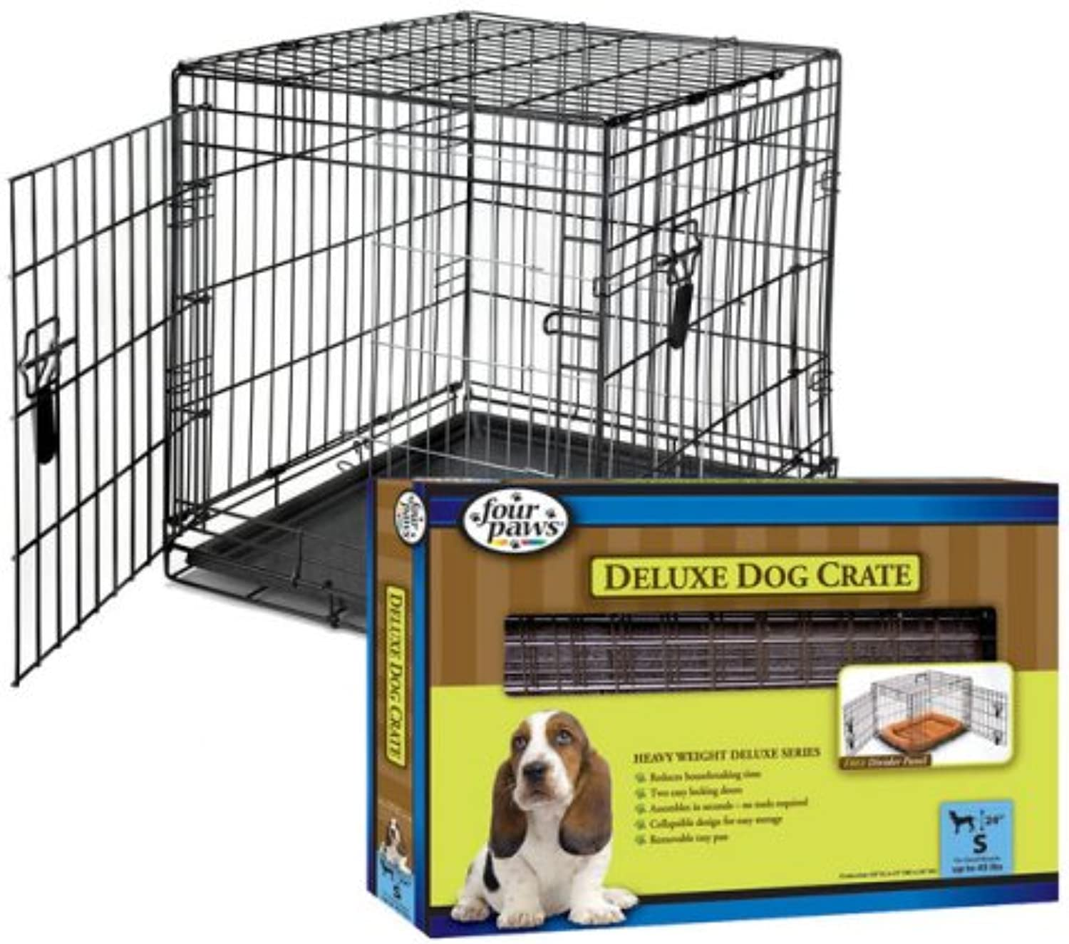 Four Paws Deluxe DoubleDoor Crate
