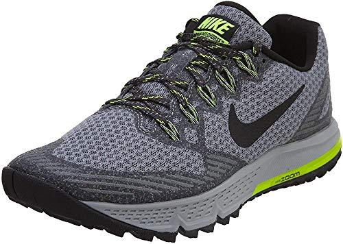 Nike Damen Air Zoom Wildhorse 3 Laufschuhe, Grau Cool Grey Anthrazit Persian Violet Schwarz, 38.5 EU