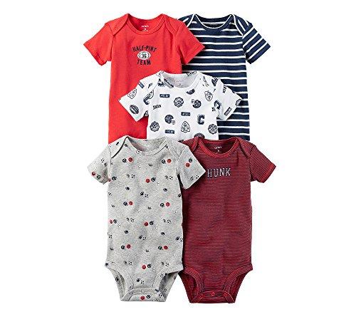 Carter's Pack de 5 monos para bebé-niños 3 meses Multi