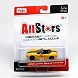 2014 Corvette Stingray Convertible (Yellow) All Stars Series 14 2014 Maisto 1:64 Scale Die-Cast Collection by G-Ridez