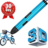 3D Pen, 7TECH 3D Printing Drawing Printer Pen with Non—Toxic ABS Filaments 3D Drawing Printing Pen Clearly OLCD Display 3D pens