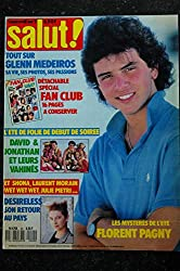 Salut ! M4768 020 N° 20 1988 août GLENN MEDEIROS DEBUT DE SOIREEE David & Jonathan DESIRELESS FLorent PAGNY