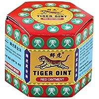 QLQ Ungüento de bálsamo de Tigre Blanco Rojo para Dolor de Cabeza Dolor de muelas Dolor de estómago Analgésico Bálsamo para aliviar los músculos Mareos Bálsamo Esencial,Rojo