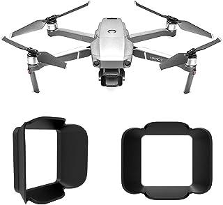 FEPITO Lens Hood Sunshade Anti-Glare Cover for DJI Mavic 2 Pro, Camera Gimbal Protector Cover DJI Mavic 2 Pro Accessories ...