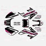 Black & Pink Shift Graphic Kit fit Honda 04-19...