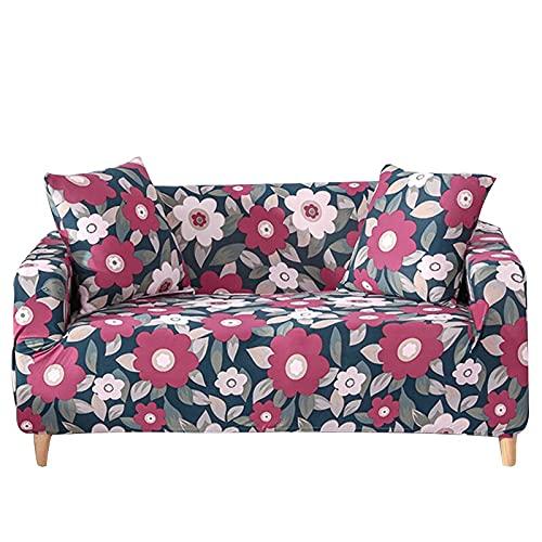 Funda elástica para sofá, Toalla de algodón, Fundas de sofá para Sala de Estar, Funda para sofá, Proteger Muebles A1, 1 Plaza