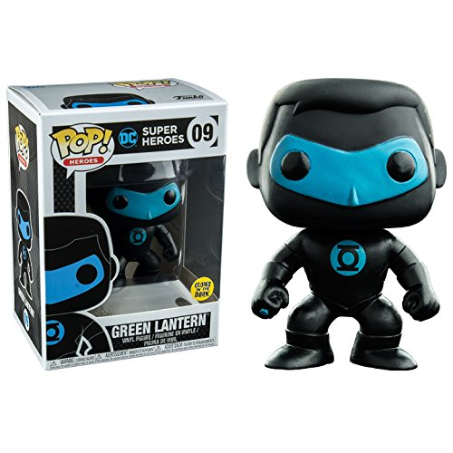 Justice League Funko Pop! Vinyl Green Lantern Silhouette Brillo en la Oscuridad Exclusive