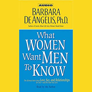 What Women Want Men to Know audiobook cover art