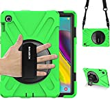 BRAECN Galaxy Tab S5e 2019 Case, [Heavy Duty Protection] Rugged...