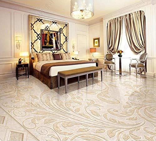 3d wallpaper 3d flooring Stone pattern jade wallpapers for living room Bedroom bathroom pvc floor self-adhesive wallpaper-250 * 175cm