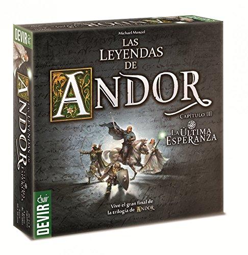 Comprar juego de mesa: Devir-Las Leyendas de Andor, la última Esperanza (225723)