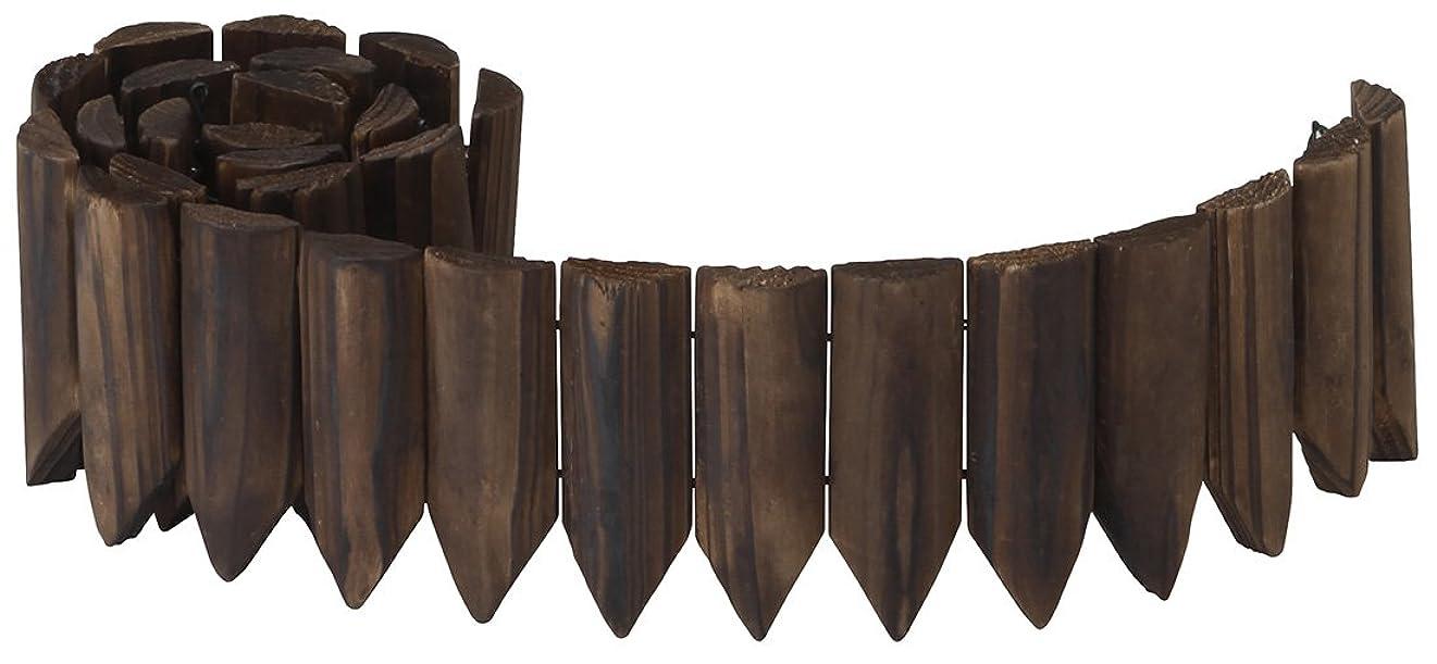 洗練されたカプラーモロニックタカショー ガーデンエッジ 焼磨き 10×100cm