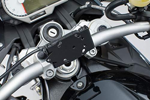SW-MOTECH Navi-Halter am Lenker Schwarz für BMW S 1000 R, S 1000 XR, F 750/850 GS