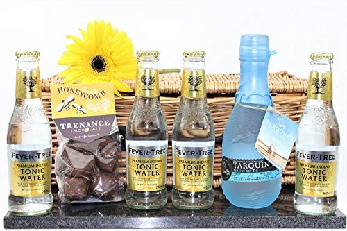 Classic Cornish Gin & Honeycomb Hamper In A Standard Carton