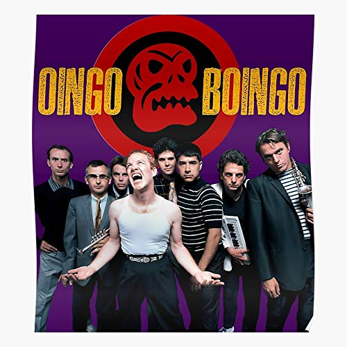 ARCHERS New Los California Alternative Dead Oingo Wave La Punk Boingo Mans Angeles Party The Best and Style Home Decor Wall Art Print Poster with only Size 16x24 inch