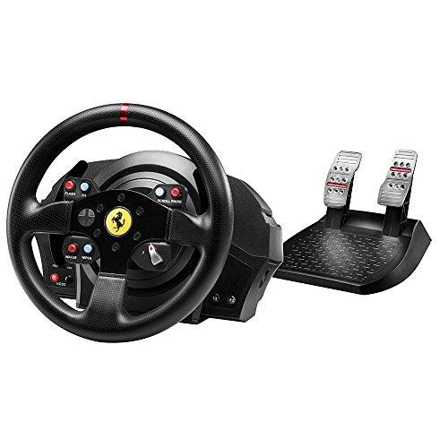 Thrustmaster T300 Ferrari GTE Volant + Pédalier pour PS3/PS4 Noir