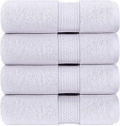 powerful Utopia Towel – Bath Towel Set, White – Luxurious 700g / m² 100% Ringspun Cotton – Quick Dry,…