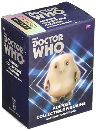Doctor Who: Adipose Collectible Figurine and Illustrated Book: With sound! (RP Minis)