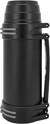 SDREAM 68 Ounce Vacuum Insulated Beverage Bottle with Handle, Stainless Steel