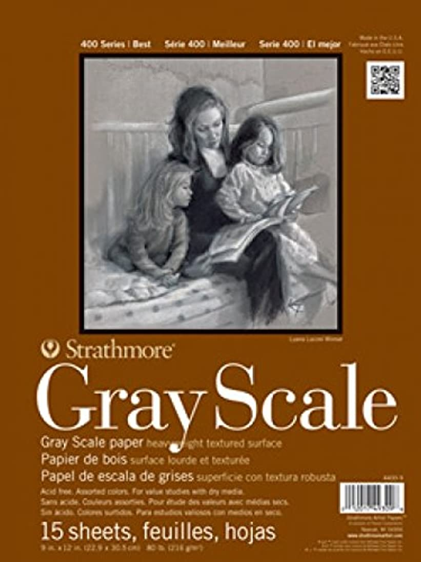 Strathmore 400 Series Gray Scale Pad, Assorted Tints, 12