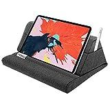 MoKo Soporte de Almohada Compatible con New iPad Air 3rd Gen, iPad Mini 5th Gen, iPad 10.2' 2019, Soporte Suave de Almohadas de Tableta hasta 11' para Galaxy Tab - Gris Espacial