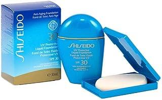 Shiseido Unisex UV Protective Liquid Foundation SPF 42, Dark Beige, 1 Ounce