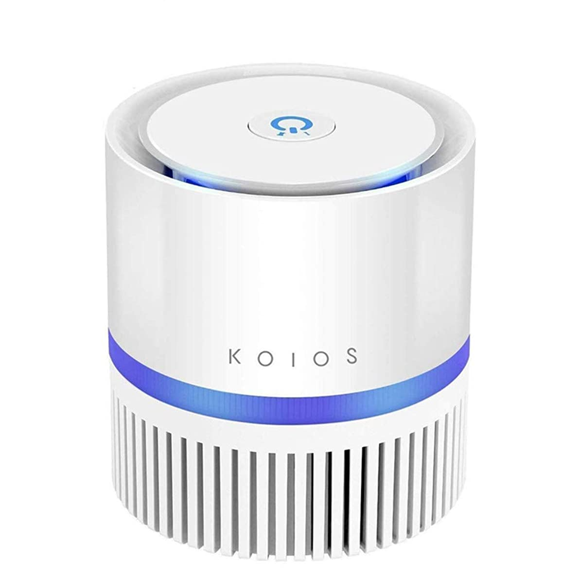 KOIOS Air Purifier, Indoor Air Cleaner with 3-in-1 True HEPA Filter for Home and Office, Odor Allergies Eliminator for Smoke, Dust, Pets, 3 Stage Filtration, Night Light, 3-Year Warranty