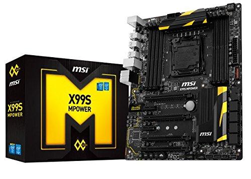 MSI 7885-012R Mainboard Sockel (ATX X99, 8X DDR4 Speicher, USB 3.0)
