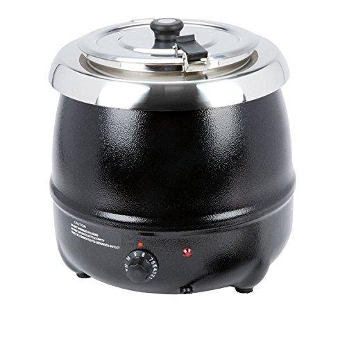 Atosa at51588 Noir soupe Bouilloire Plug In