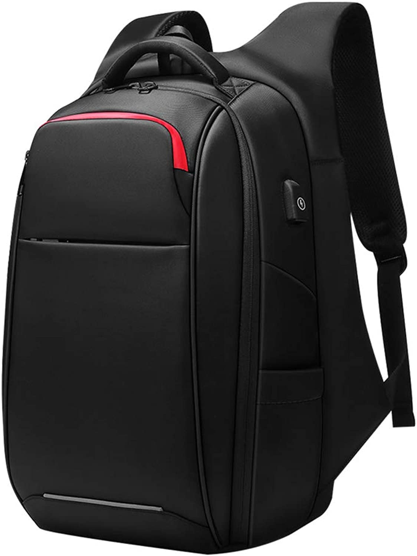 Zgu Sportrucksack, wasserdichter Outdoor-Reiserucksack, beilufiger Rucksack mit externem USB-Ladeanschluss, geeignet für Outdoor-Reisen