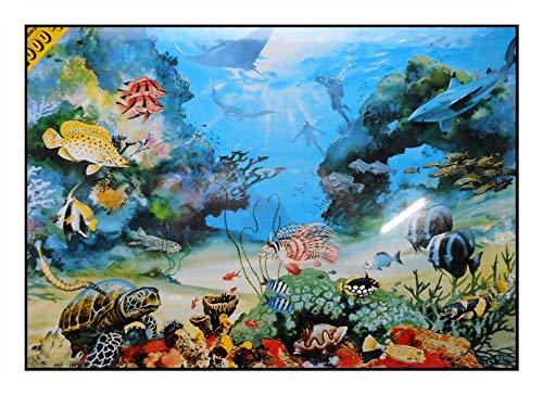 N / A James Hamilton 1000 T - Puzzle (72 x 51 cm), diseño de arrecife australiana, coral, pez, tortuga, concha, gran Barrier Reef 1053