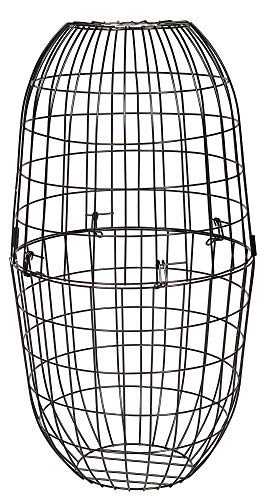 Ruddings Wood Large Metal Squirrel Proof Blocking Wire Cage for Wild Bird Feeders - Guard