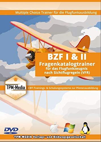 BZF Fragenkatalogtrainer für das Flugfunkzeugnis nach Sichtflugregeln: Lernsoftware für die Prüfungsvorbereitung bei der Bundesnetzagentur